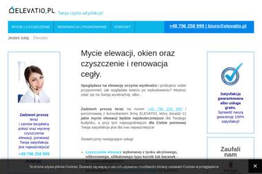 Elevatio - Mycie okien w firmie Katowice