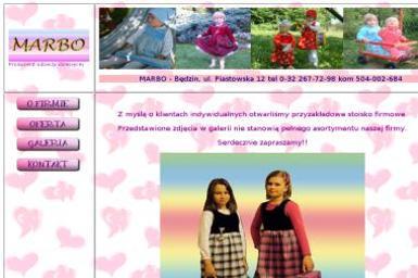 Marbo-producent odzieży dziecięcej - Odzież damska Będzin