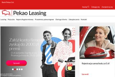 Pekao Leasing Sp. z o. o. - Mini-koparki Warszawa