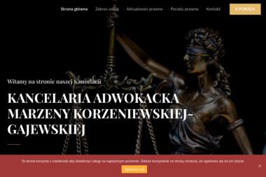 Kancelaria Adwokacka Marzena Korzeniewska - Radca prawny Tychy