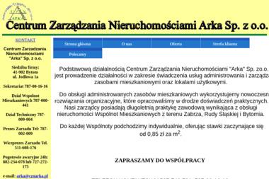 Centrum Zarządzania Nieruchomościami ARKA Sp. z o.o. - Zielona Energia Bytom
