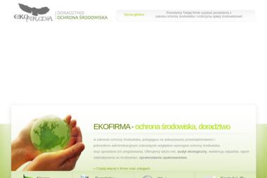 EKOFIRMA OCHRONA ŚRODOWISKA DORADZTWO DLA FIRM CAŁA POLSKA - Firma konsultingowa Drawsko Pomorskie