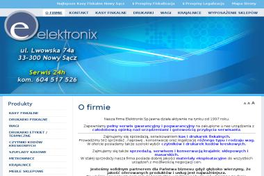 ELEKTRONIX Sp.Jawna - Okresowe Szkolenia BHP Nowy Sącz