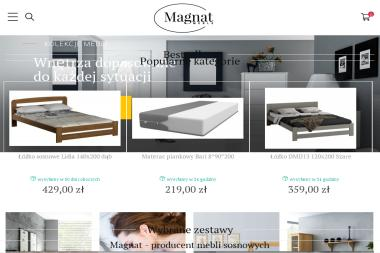 P.p.h.u magnat - Wyposażenie sypialni Skawina