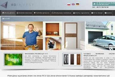 RD Invest Sp. z o.o. Okna, Drzwi, Bramy, Ogrodzenia - Ogrodzenia panelowe Wrocław