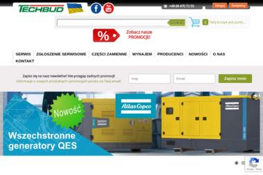 TECHBUD SPÓŁKA Z OGRANICZONĄ ODPOWIEDZIALNOŚCIĄ - Maszyny i urządzenia różne Zielona Góra