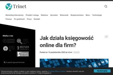 TriNet Spółka z o. o. - Wykonanie Strony Internetowej Gorzów Wielkopolski