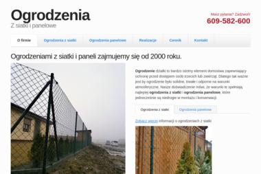 """""""Aga"""" Przedsiębiorstwo Wielobranżowe - Montaż ogrodzenia Środa Wlkp."""
