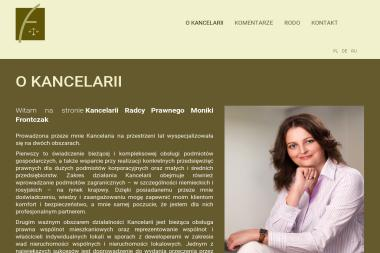 Kancelaria Radcy Prawnego Monika Frontczak - Radca prawny Poznań