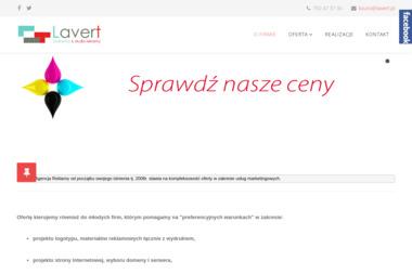 LAVERT Agencja Reklamy i Fotografii - Poligrafia Wodzisław Śląski