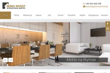 F.H.U REMO INVEST - Firma Budująca Domy Dąbrowa Górnicza