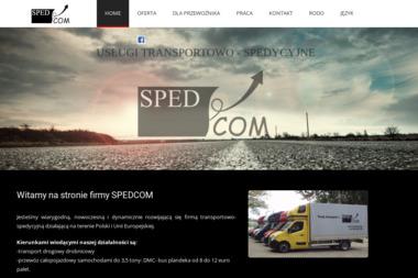 Spedcom S.C Katarzyna Krusinowska Jacek Gurbiel - Usługi Przeprowadzkowe Kraków