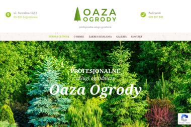 OAZA OGRODY - Projektowanie Ogrodów Zimowych Łaziska
