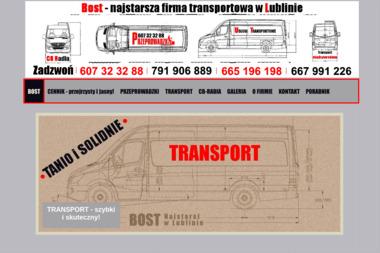 PHU BOST Maria Wymoczył - Przewóz Mebli Lublin