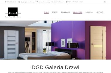 DGD Dolnośląska Galeria Drzwi Wrocław - Wyposażenie łazienki Wrocław