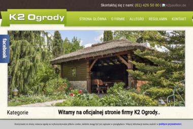 Firma Handlowa K2 Ogrody - Ogród Zimowy na Tarasie Gniezno