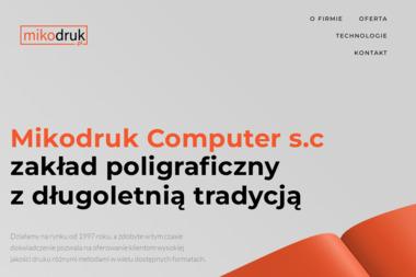 MIKODRUK COMPUTER - Ulotki Kalisz