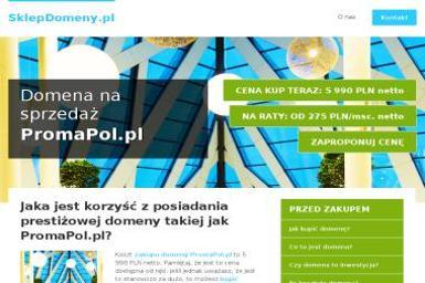 Promapol Sp. z o.o. - Narzędzia Wrocław