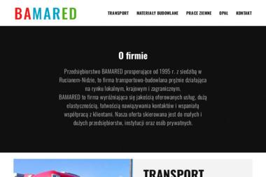 Przedsiębiorstwo BAMARED - Wykonanie Fundamentów Ruciane-Nida
