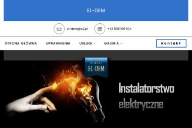 Grzegorz Demski EL-DEM - Biuro Projektowe Instalacji Elektrycznych Wrocław