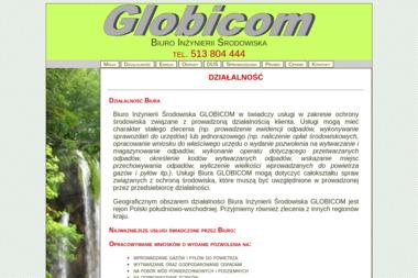 Biuro In偶ynierii 艢rodowiska GLOBICOM - Ochrona 艣rodowiska 呕urawica (Przemy艣l)
