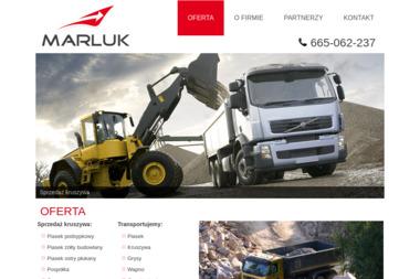 Przedsiębiorstwo Produkcyjno Handlowo Usługowe MARLUK Łukasz Marzec - Firma transportowa Rzeszów