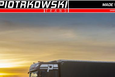 PIOTRKOWSKI TRANS - Firma transportowa Susz