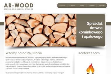 AR-WOOD - Drewno kominkowe Niestępowo