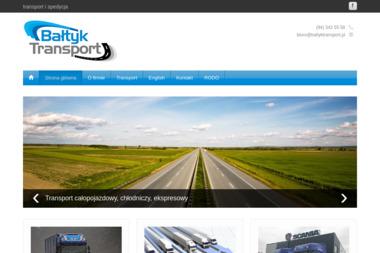 Bałtyk-Transport Ewa Przychodzka-Wiewióra - Transport międzynarodowy Koszalin