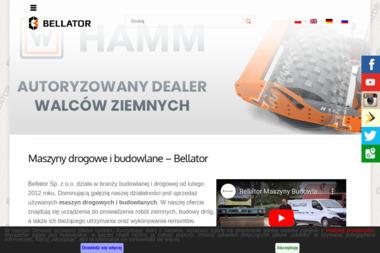 Bellator Maszyny Budowlane Sp. z o.o. - Koparki Ruda Śląska