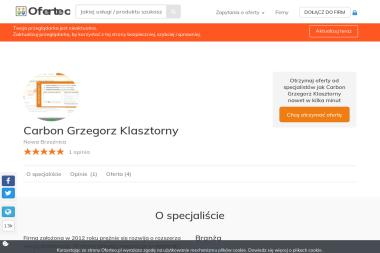 Carbon Grzegorz Klasztorny - Opał Nowa Brzeźnica