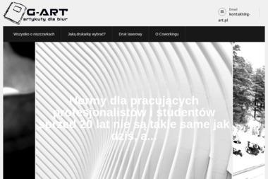 """AGENCJA REKLAMOWA """"G-ART"""" - Pozycjonowanie stron Nowa Sarzyna"""