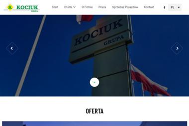KOCIUK LOGISTICS Sp. z o.o. - Transport busem Biała Podlaska