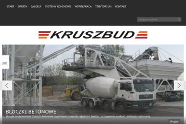 KRUSZBUD Zak艂ad Produkcyjny Mieszanki Betonowej - Beton Nowy Dwór Mazowiecki