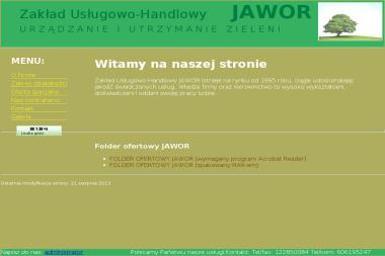Zakład Usługowo-Handlowy JAWOR - Parki, ogrody, rezerwaty Zielonki