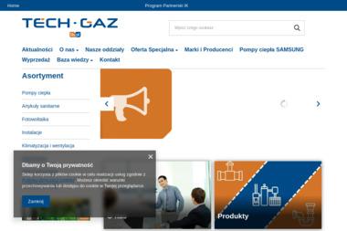 TECH-GAZ SP.Z.O.O. - Urządzenia, materiały instalacyjne PIOTRKÓW TRYB.