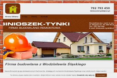 BINIOSZEK-TYNKI - Budowa domów Wodzisław Śl