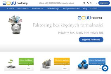 AOW Faktoring S.A. - Faktoring Częstochowa