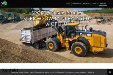 Spółdzielnia Pracy Surowców Mineralnych - Nawierzchnie Opole