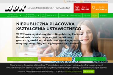 AOK - Akademicki Ośrodek Kształcenia - Szkoła językowa Łódź