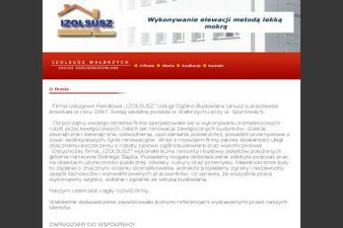 """F.U.H """"IZOLSUSZ"""" Usługi Ogólno-budowlane Janusz Łukaszewski - Energia odnawialna Wałbrzych"""