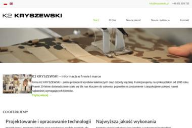 K2 KRYSZEWSKI WOJCIECH - Szwalnia Reda