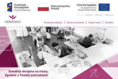 Raiseberry Magdalena Jurek-Karasek - Strony Internetowe Gołkowice