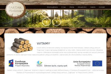 Tartak Płoskinia - Skład drewna Płoskinia