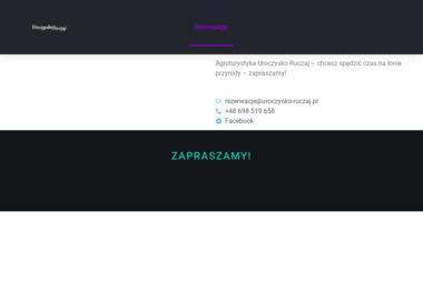 Centrum turystyczno-rekreacyjne Ruczaj Anna Stefańczuk - Kolonie, obozy Karczmisko