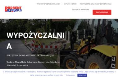BUDRENT-SERWIS Piotr Siara - Wynajem Zaplecza Budowlanego Luborzyca