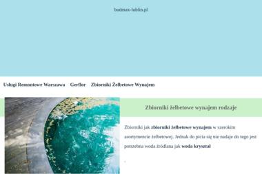BUD-MAX - Firma transportowa Lublin
