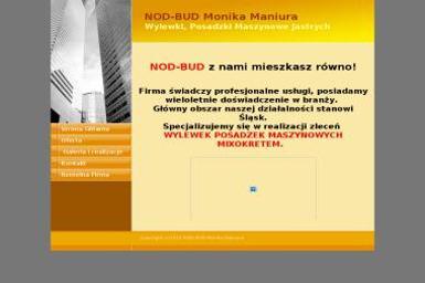 NOD-BUD Monika Maniura Przedsiębiorstwo Remontowo Handlowo Usługowe - Posadzki przemysłowe Strzebiń-Łazy