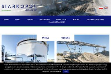 """""""Siarkopol"""" Gdańsk S.A. - Transport Paletowy Międzynarodowy Gdańsk"""