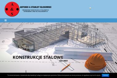 Antonio & Stanley Kłosowski Producent Konstrukcji Stalowych - Konstrukcje stalowe Stalowa Wola
